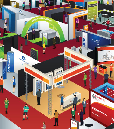How to be an exhibitor